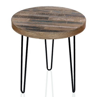 Czajkowski Pinewood Round End Table