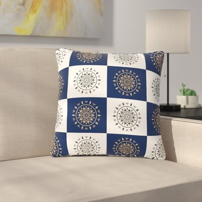 Cristina Bianco Mandalas Outdoor Throw Pillow Size: 16 H x 16 W x 5 D