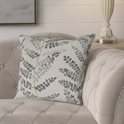 Pineiro Woven Decorative Pillow Cover Color: Blue
