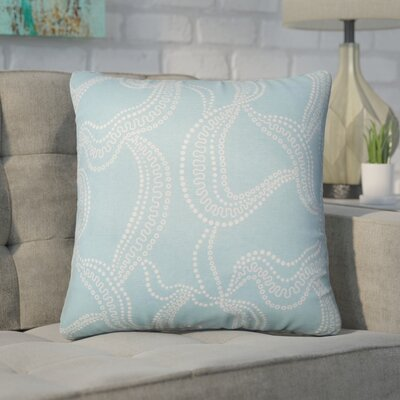 Nuzzo Graphic Linen Throw Pillow Color: Smoke