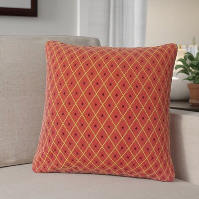 Dobson Geometric Cotton Throw Pillow