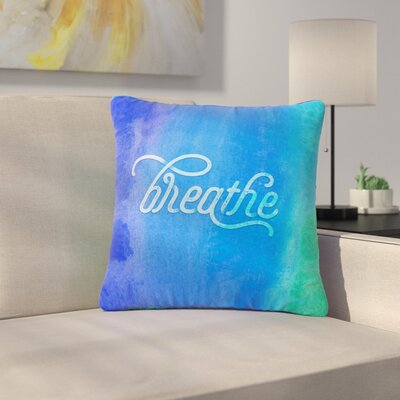 Noonday Design Breathe Outdoor Throw Pillow Size: 16 H x 16 W x 5 D