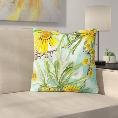 Sunny Day by Liz Perez Throw Pillow Size: 16 H x 16 W