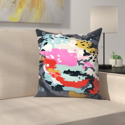 Charlotte Winter Charlotte Throw Pillow Size: 14 x 14