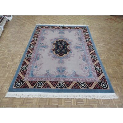 One-of-a-Kind Rainer Hand-Knotted Taupe Area Rug