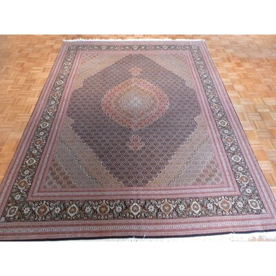 One-of-a-Kind Padro Hand-Knotted Pink Area Rug