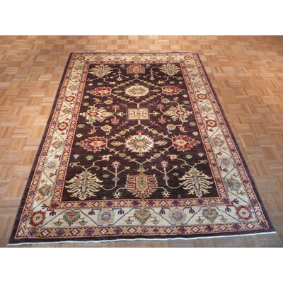 One-of-a-Kind Padula Hand-Knotted Wool Brown Area Rug