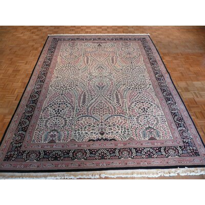 One-of-a-Kind Pellegrino Hand-Knotted Wool Ivory Area Rug