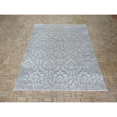 One-of-a-Kind Pellegrino Modern Hand-Knotted Wool Camel Area Rug