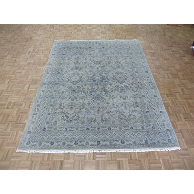 One-of-a-Kind Josephson Oushak Hand-Knotted Wool Beige/Gray Area Rug