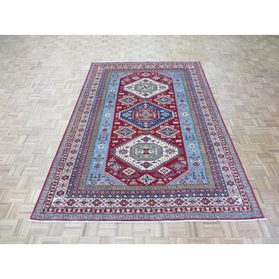 One-of-a-Kind Padula Tribal Super Hand-Knotted Wool Red Area Rug