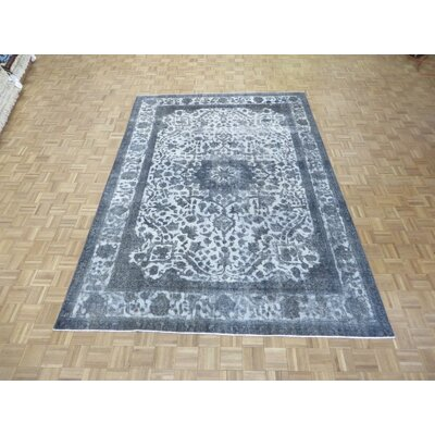 One-of-a-Kind Padro Hand-Knotted Wool Ivory/Gray Area Rug