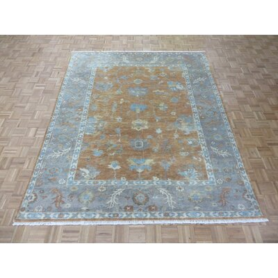 One-of-a-Kind Padillo Turkish Oushak Hand-Knotted Wool Area Rug