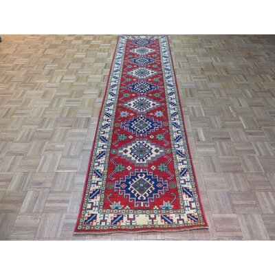 One-of-a-Kind Padula Hand-Knotted Wool Red Area Rug