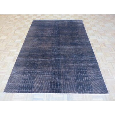 One-of-a-Kind Cornerstone Hand-Knotted Wool Brown Area Rug