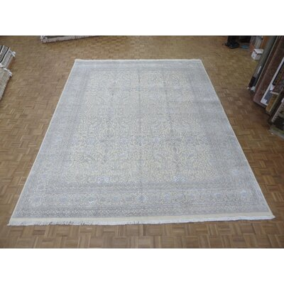 One-of-a-Kind Paden Hand-Knotted Beige/Gray Area Rug