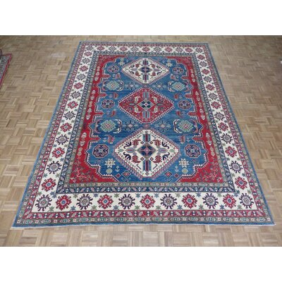 One-of-a-Kind Padula Tribal Hand-Knotted Blue Area Rug