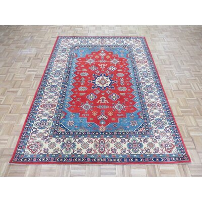 One-of-a-Kind Padula Tribal Hand-Knotted Red Area Rug