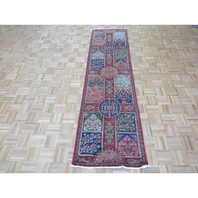 One-of-a-Kind Railsback Hand-Knotted Wool Multi colored Area Rug