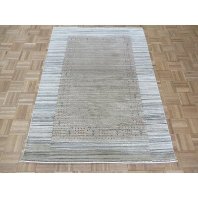 One-of-a-Kind Wakefield Hand-Knotted Wool Beige Area Rug