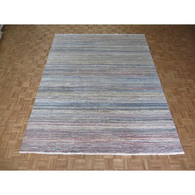 One-of-a-Kind Cornerstone Hand-Knotted Wool Yellow/Brown Area Rug