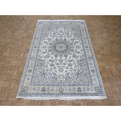 One-of-a-Kind Padro Hand-Knotted Wool Ivory Area Rug Rug Size: Rectangle 66 x 10