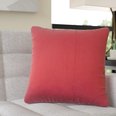 Quintanilla Solid Silk Throw Pillow