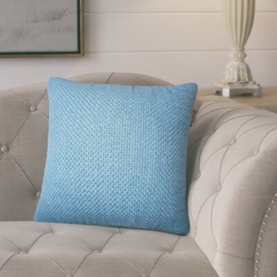 Glade Solid Throw Pillow Color: Indigo