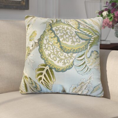 Fredrik Floral Cotton Throw Pillow