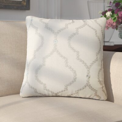Goddard Geometric Throw Pillow Color: Mineral