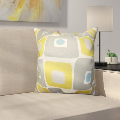 Debora Geometric Cotton Throw Pillow Size: 20 x 20