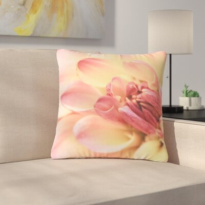Debbra Obertanec Spring Floral Outdoor Throw Pillow Size: 16 H x 16 W x 5 D