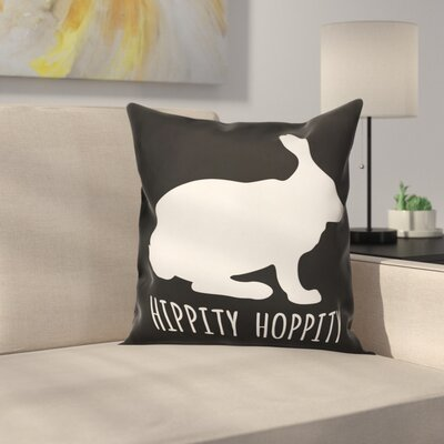 Marble Falls Hippity Hoppity Throw Pillow