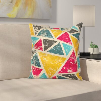 Triangles Pillow Cover Size: 16 x 16