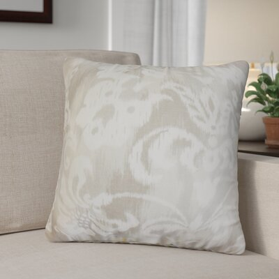 Ronnell  Floral Cotton Throw Pillow
