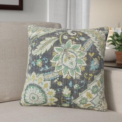 Oclie Floral Linen Throw Pillow