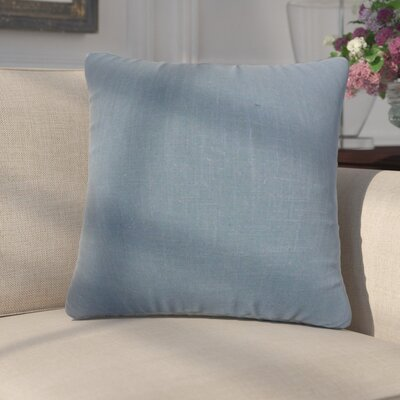 Fabiano Solid Cotton Throw Pillow