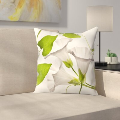 Maja Hrnjak Bell Flower2 Throw Pillow Size: 18 x 18