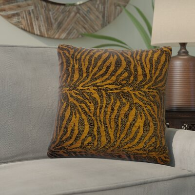 Tignall Animal Print Throw Pillow Size: 18 x 18