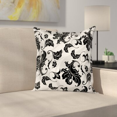 Modern Floral Square Pillow Cover Size: 24 x 24