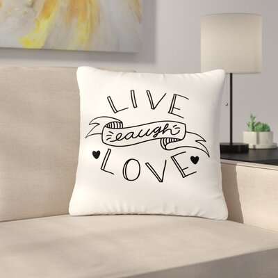 Busy Bree LLL Outdoor Throw Pillow Size: 18 H x 18 W x 5 D