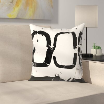Kasi Minami Abstract 4 Throw Pillow Size: 14 x 14