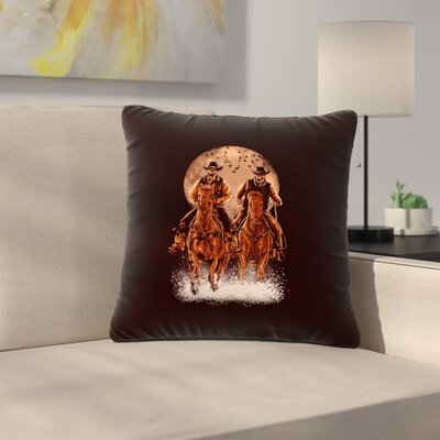 BarmalisiRTB Come at Night Outdoor Throw Pillow Size: 16 H x 16 W x 5 D