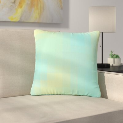 Sylvia Coomes Sea Mosiac Outdoor Throw Pillow Size: 16 H x 16 W x 5 D