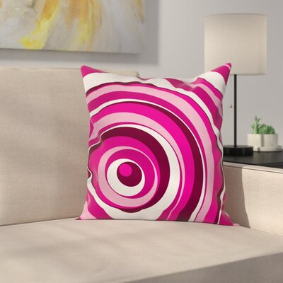 Modern Waterproof Pillow Cover with Zipper Size: 18 x 18