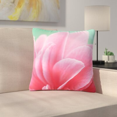 Alison Coxon Camellia Outdoor Throw Pillow Size: 18 H x 18 W x 5 D