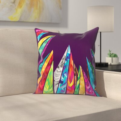 Joe Van Wetering The Great Throw Pillow Size: 14 x 14