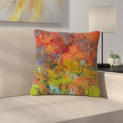 Jeff Ferst Fall Colours Painting Outdoor Throw Pillow Size: 18 H x 18 W x 5 D