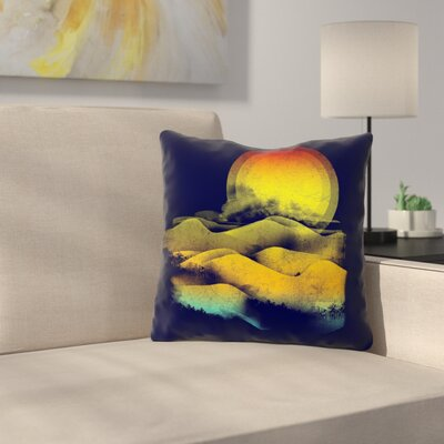 Sunset by Frederic Levy-Hadida Throw Pillow Size: 18 H x 18 W x 3 D