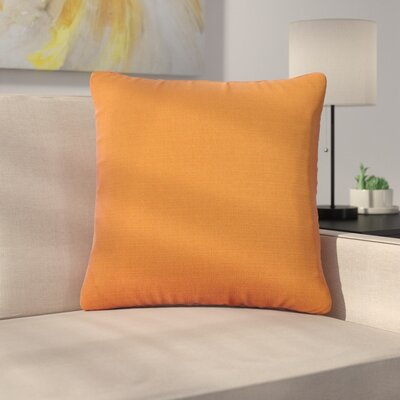 Alyssia Throw Pillow Size: 20 H x 20 W x 4 D, Color: Canyon